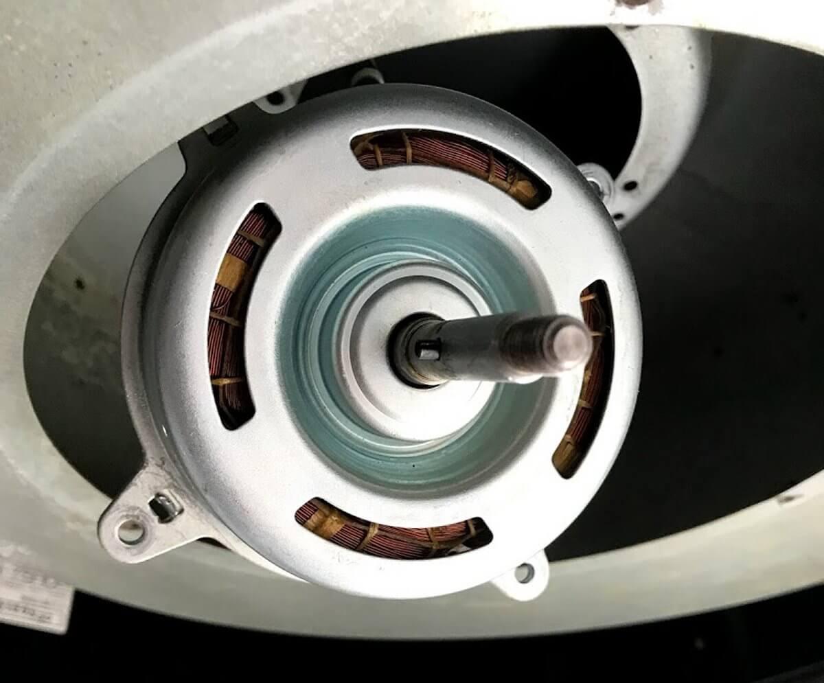 レンジフードのRH-75HDが爆音になったのでモーターを分解してベアリングを交換した